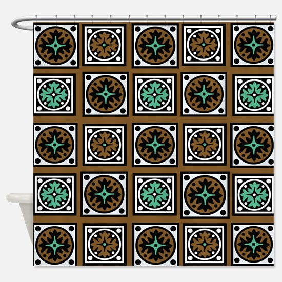 Southwestern Quilted Majesty Shower Curtain