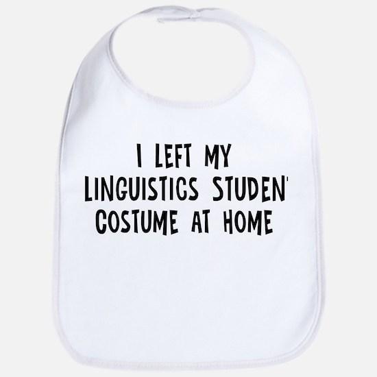 Left my Linguistics Student Bib
