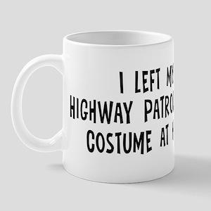 Left my Highway Patrolwoman Mug