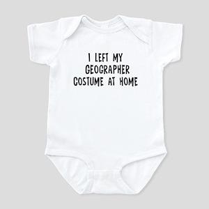 Left my Geographer Infant Bodysuit