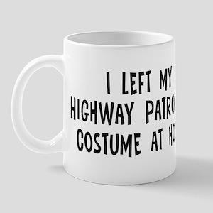 Left my Highway Patrolman Mug