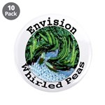 "Envision Whirled Peas 3.5"" Button (10 pack)"