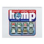 Hemp: Earth's #1 Resource Log Wall Calendar