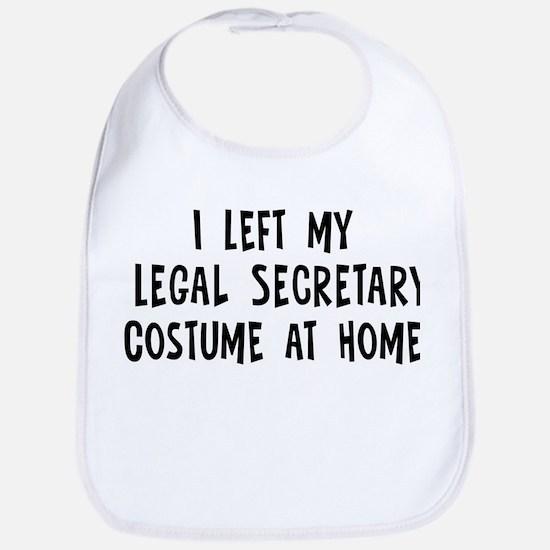 Left my Legal Secretary Bib