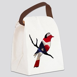 Bernie Bird Canvas Lunch Bag