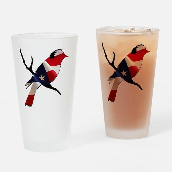 Bernie Bird Drinking Glass