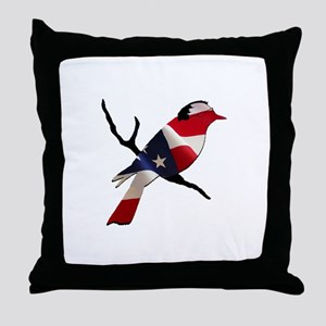 Bernie Bird Throw Pillow