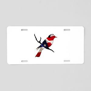Bernie Bird Aluminum License Plate
