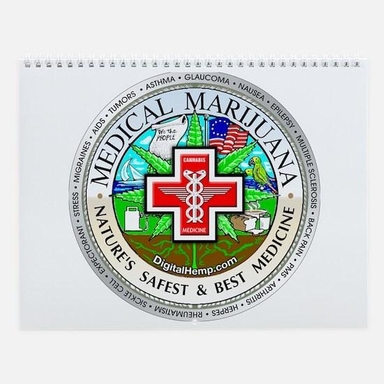 Medical Marijuana Wall Calendar