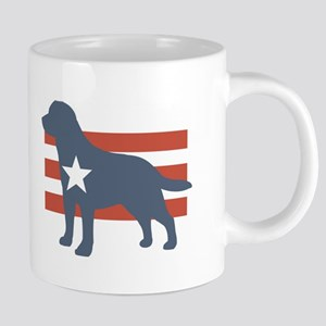 Patriotic Labrador Retriever Mugs
