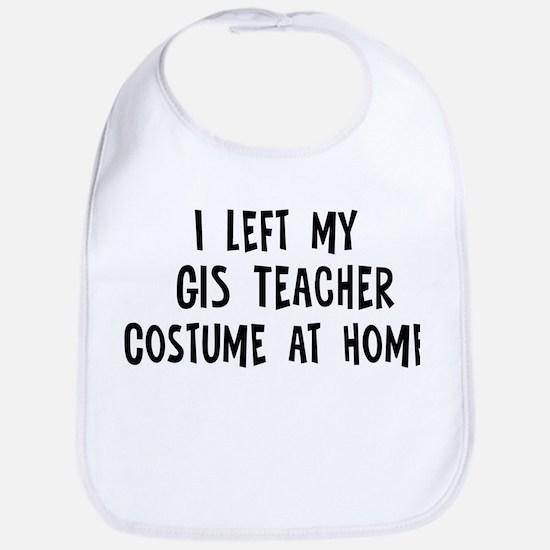 Left my GIS Teacher Bib