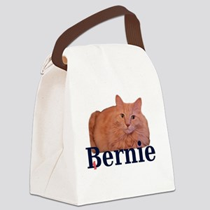 Cats for Bernie Canvas Lunch Bag