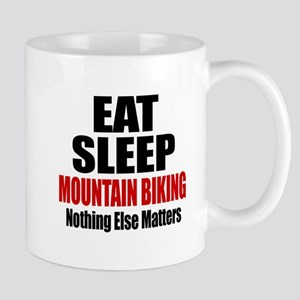 Eat Sleep Mountain Biking Mug