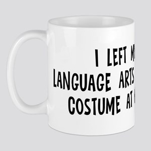Left my Language Arts Student Mug