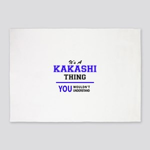 It's KAKASHI thing, you wouldn't un 5'x7'Area Rug