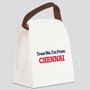 Trust Me, I'm from Chennai India Canvas Lunch Bag
