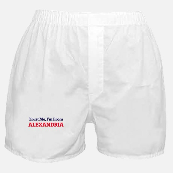Trust Me, I'm from Alexandria Egypt Boxer Shorts