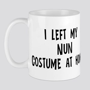 Left my Nun Mug