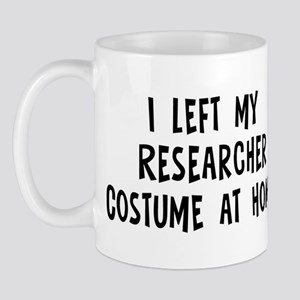 Left my Researcher Mug