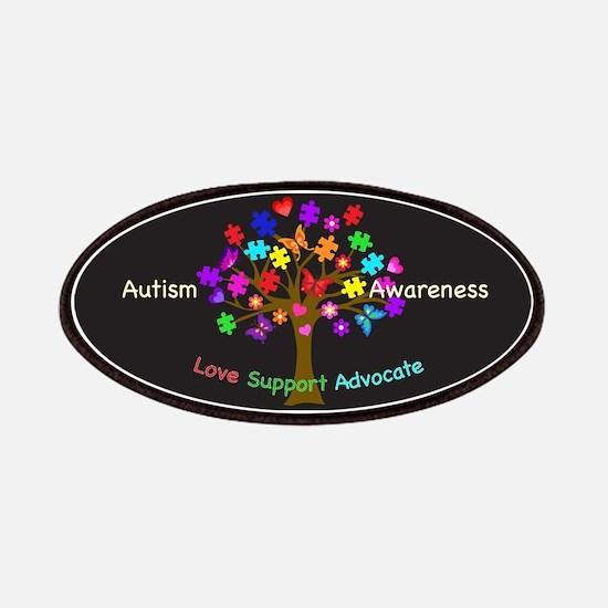 Autism Awareness Tree Patch