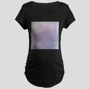 purple stripes pattern modern st Maternity T-Shirt