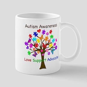 Autism Awareness Tree Mug