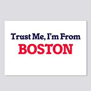 Trust Me, I'm from Boston Postcards (Package of 8)