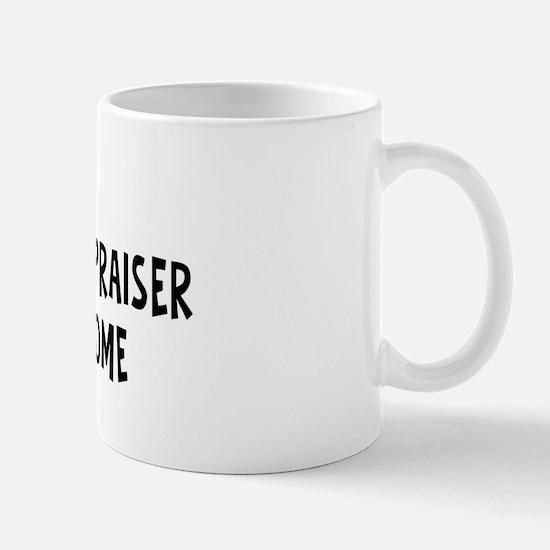 Left my Real Estate Appraiser Mug