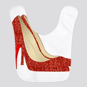 Oz ruby slippers Bib
