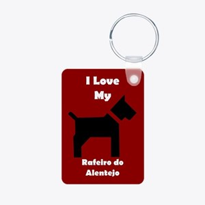 I Love My Rafeiro do Alentejo Dog Keychain Keychai