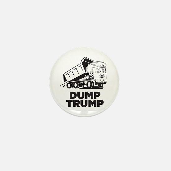 Dump Trump Dump Truck Mini Button