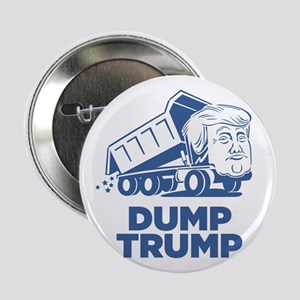 "Dump Trump Dump Truck 2.25"" Button (10 pack)"