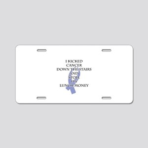Cancer Bully (Periwinkle Ribbon) Aluminum License