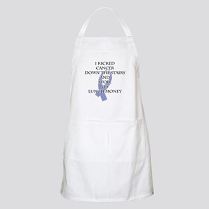 Cancer Bully (Periwinkle Ribbon) Apron