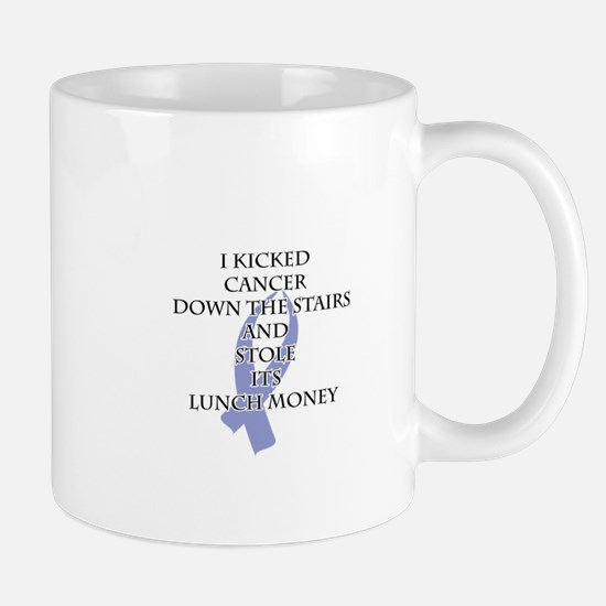 Cancer Bully (Periwinkle Ribbon) Mugs