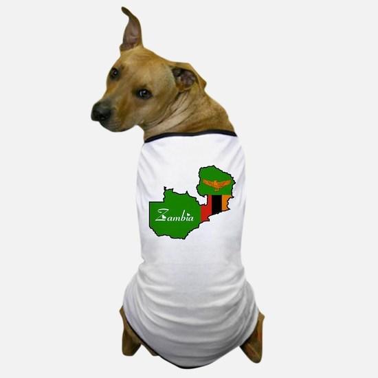 Cool Zambia Dog T-Shirt