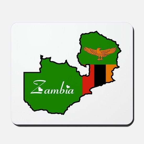Cool Zambia Mousepad