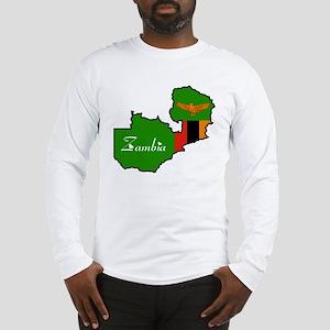 Cool Zambia Long Sleeve T-Shirt