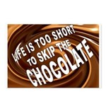 CHOCOLATE Postcards (Package of 8)