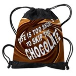 CHOCOLATE Drawstring Bag