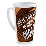 CHOCOLATE 17 oz Latte Mug