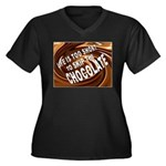 CHOCOLATE Plus Size T-Shirt