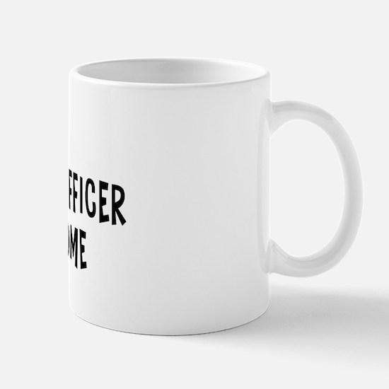 Left my Correctional Officer Mug