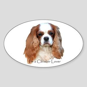 I'm A Cavalier Lover Sticker