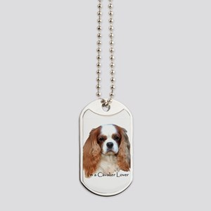 I'm A Cavalier Lover Dog Tags