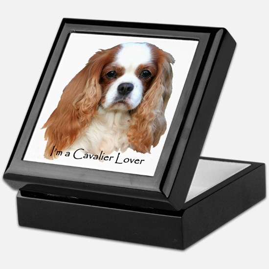 I'm A Cavalier Lover Keepsake Box