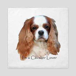 I'm A Cavalier Lover Queen Duvet