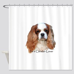 I'm A Cavalier Lover Shower Curtain