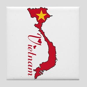 Cool Vietnam Tile Coaster