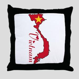 Cool Vietnam Throw Pillow